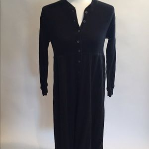 DKNY Long Black Dress Size M